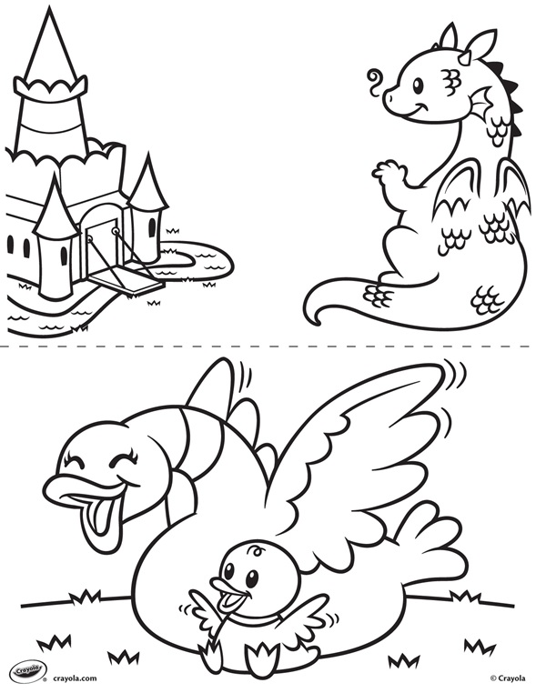 First Pages Dragon And Duck