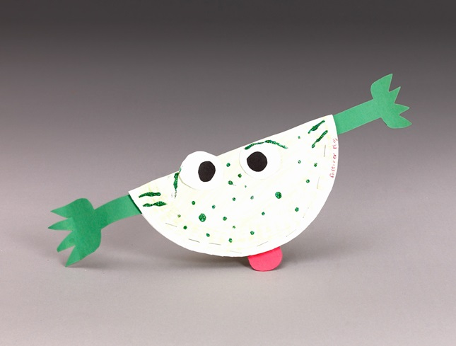 Freckled Frog craft