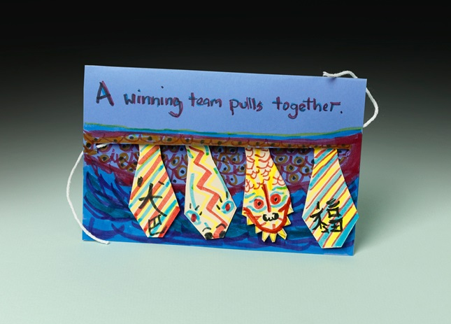 Dragon Boat Teamwork Action Card lesson plan