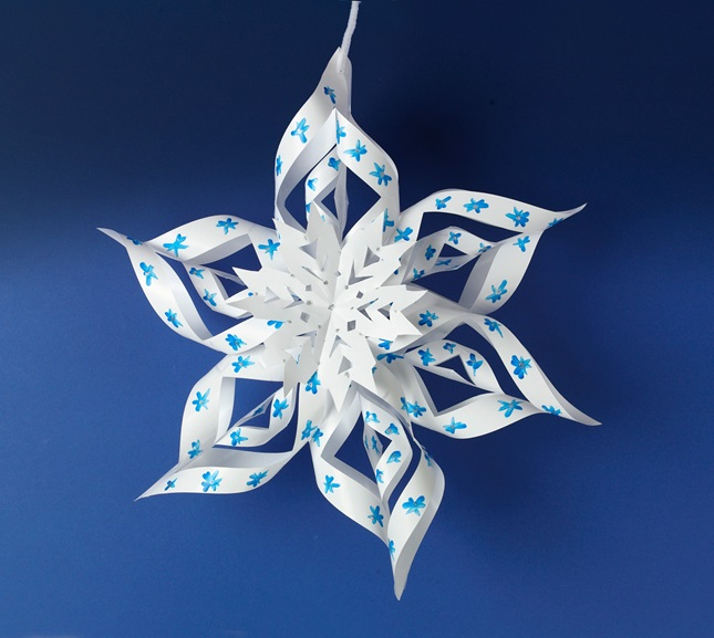 Sizzling Snowflake Crystal lesson plan