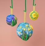 Starry Night Ornaments lesson plan