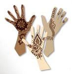 Mehndi Hands lesson plan