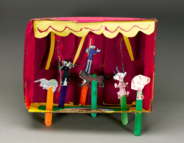 Pop-Up Puppets lesson plan