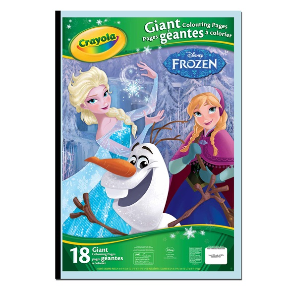 Giant Colouring Pages Disney Frozen | crayola.co.uk