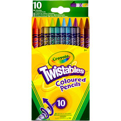 10 Twistable Pencils