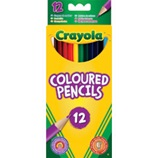 12 ct. Long Colored Pencils