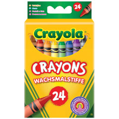 24 Assorted Crayons