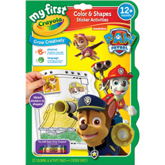 Paw Patrol Colour and Shape Book