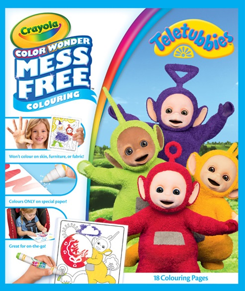Teletubbies Color Wonder