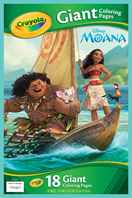 Moana Giant Colouring Pages