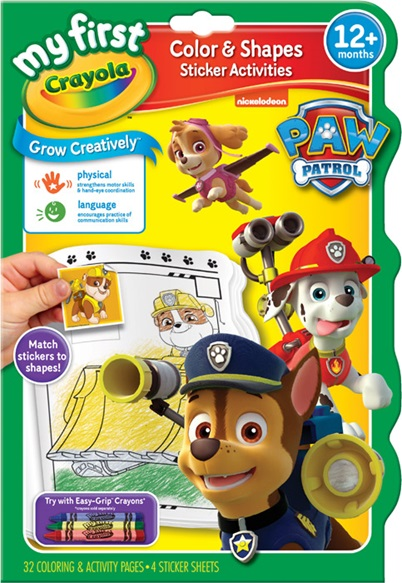 Paw Patrol Color and Shape