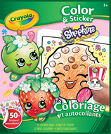 Shopkins Colour and Sticker Book