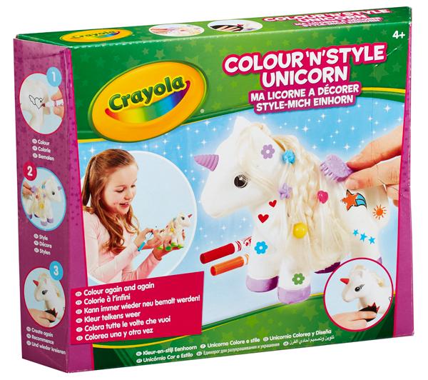 Colour n Style Unicorn   crayola.co.uk