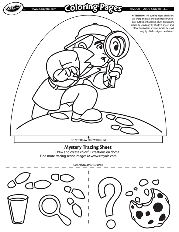 Mystery Search Crayola Co Uk Mystery Coloring Pages