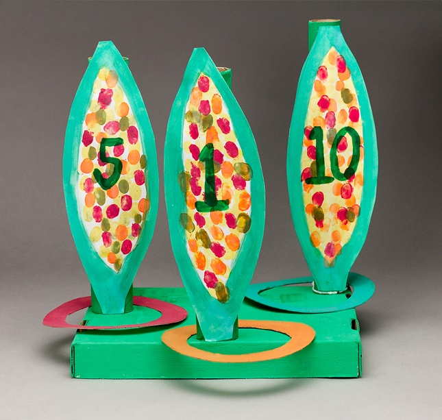 Colorful Corn Ring Toss lesson plan