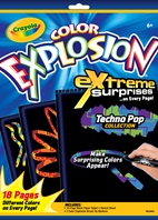 Color Explosion Extreme Surprises Black