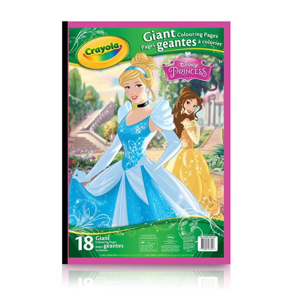 Galerry crayola giant coloring pages disney princess