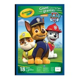 Paw Patrol Giant Colouring Page