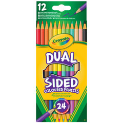 12 Dual Sided Pencils