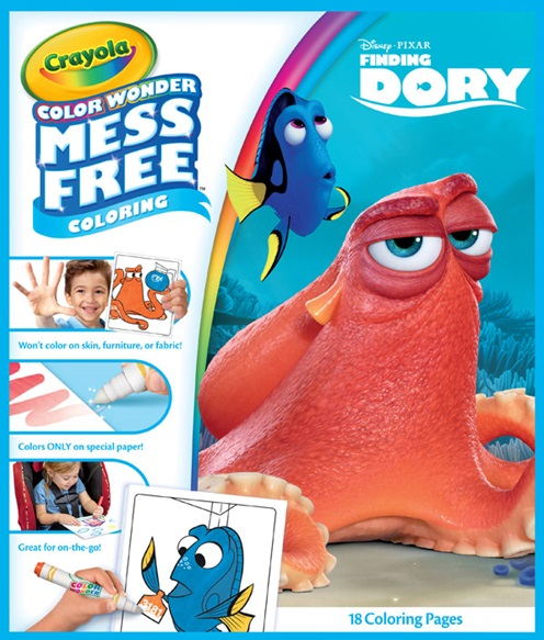 Finding Dory Color Wonder
