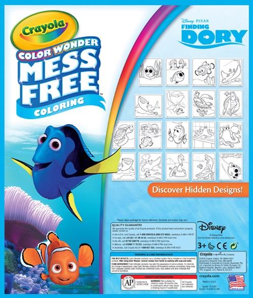 Color Wonder Finding Dory Crayola Co Uk