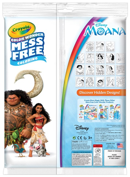 Color Wonder Moana | crayola.co.uk
