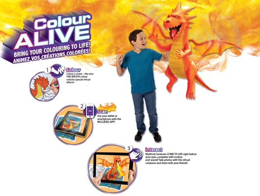 crayola colour alive