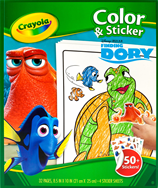 Finding Dory Colour & Sticker