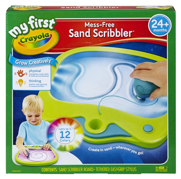 My First Crayola Sand Scribbler Crayola Co Uk