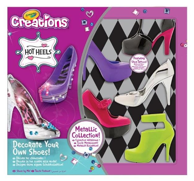 Hot Heels Crayola Co Uk