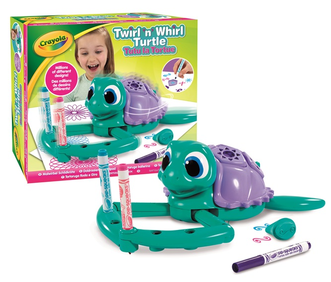Twirl 'n' Whirl Turtle Contents