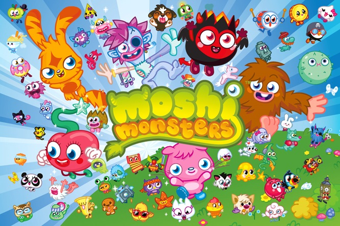 Product Category Licenses Moshi Monsters